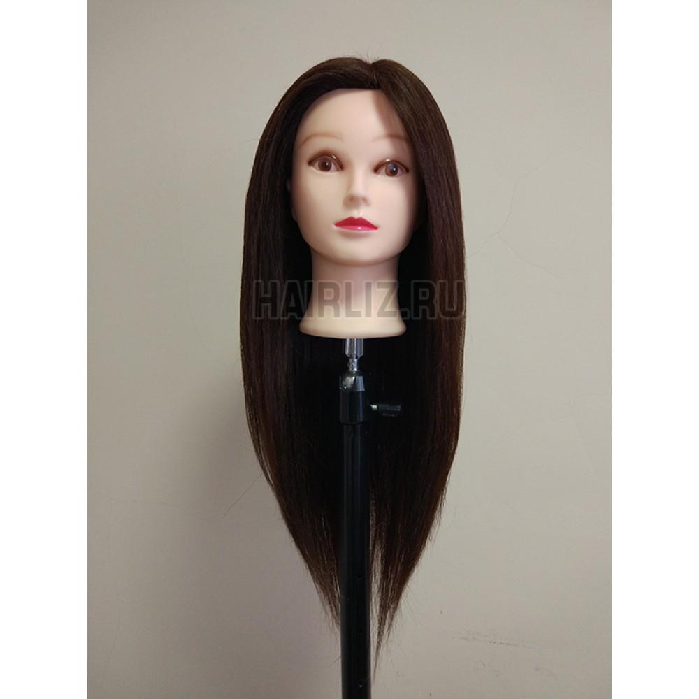 Шатен, 50% натуральных волос BHL-004