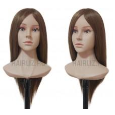 Шатен, 100% натуральный волос MX040N