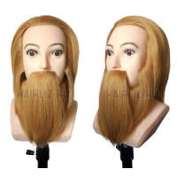 Учебный манекен, 100% натуральный волос MX096N