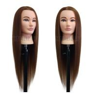 Шатен, 100% натуральный волос NHL-035