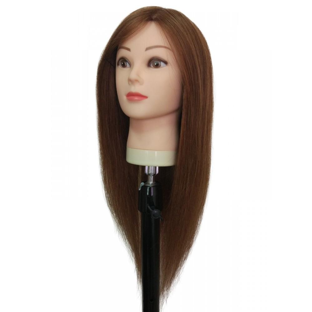 Шатен, 100% натуральный волос NHL-044