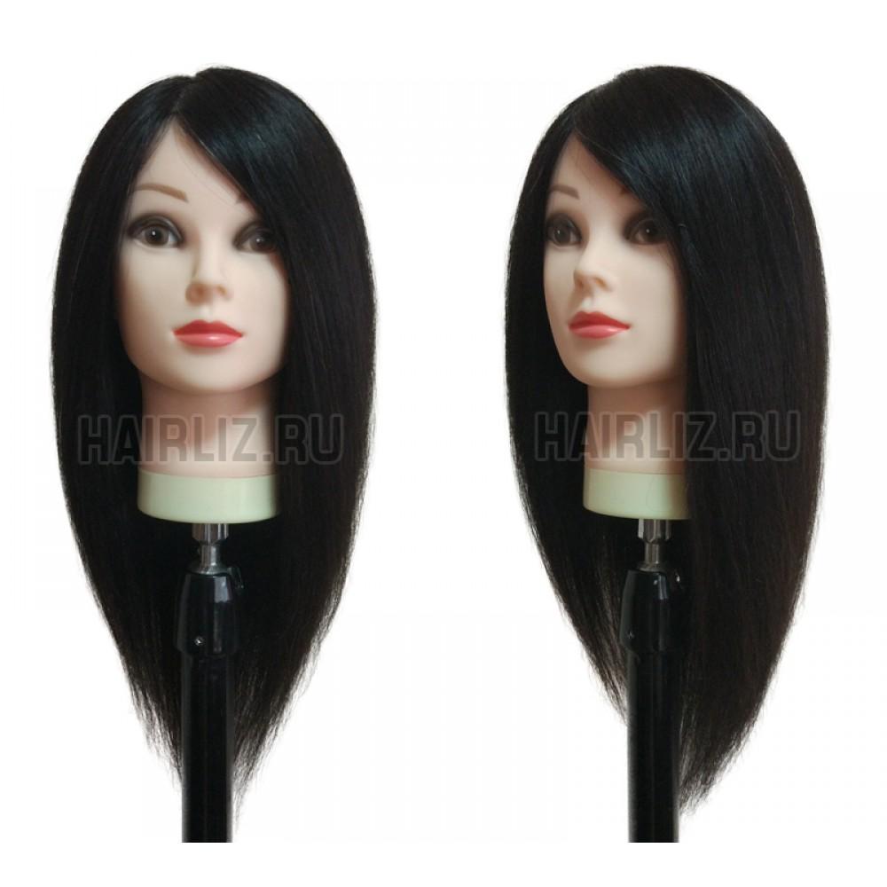 Брюнет, 100% натуральный волос NHL-061
