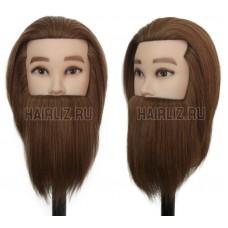Учебный манекен, 100% натуральный волос NHL-090