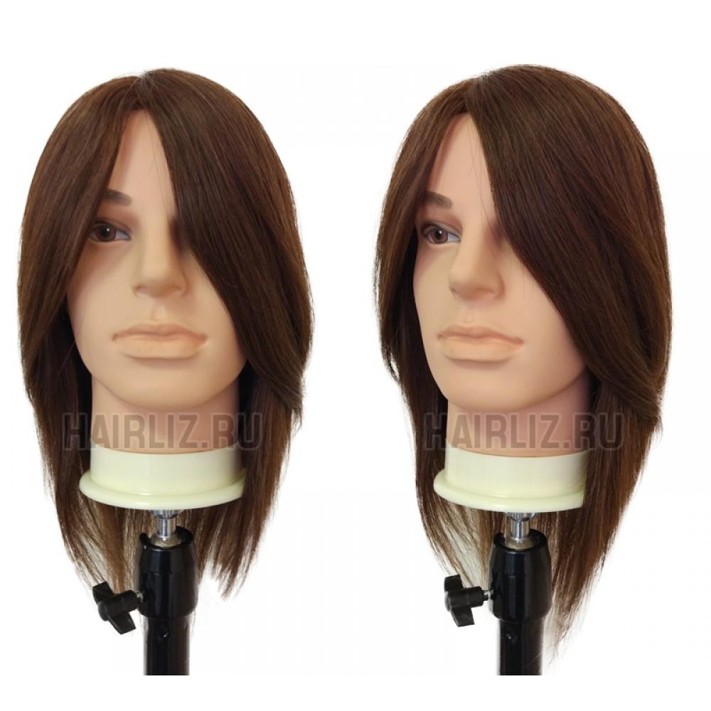 Учебный манекен, 100% натуральный волос NHL-092