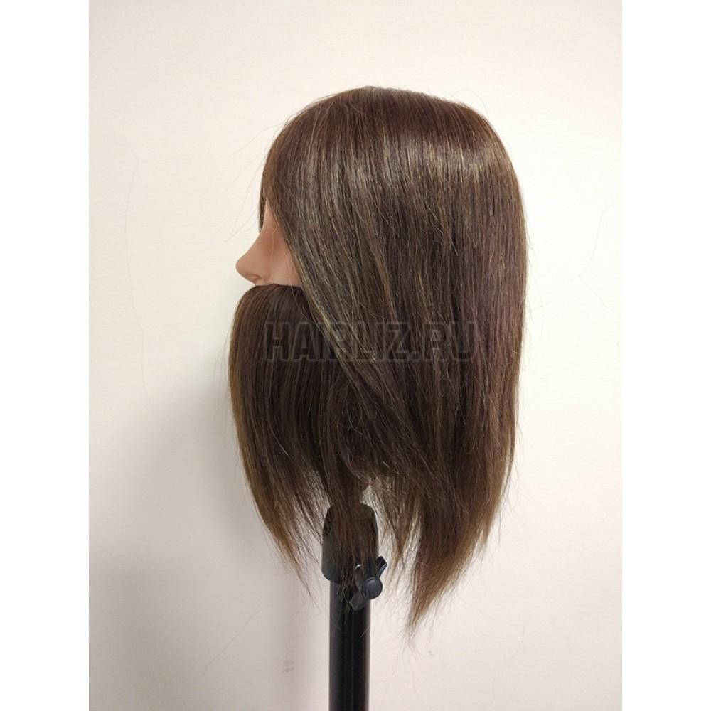 Учебный манекен, 100% натуральный волос NHL-093