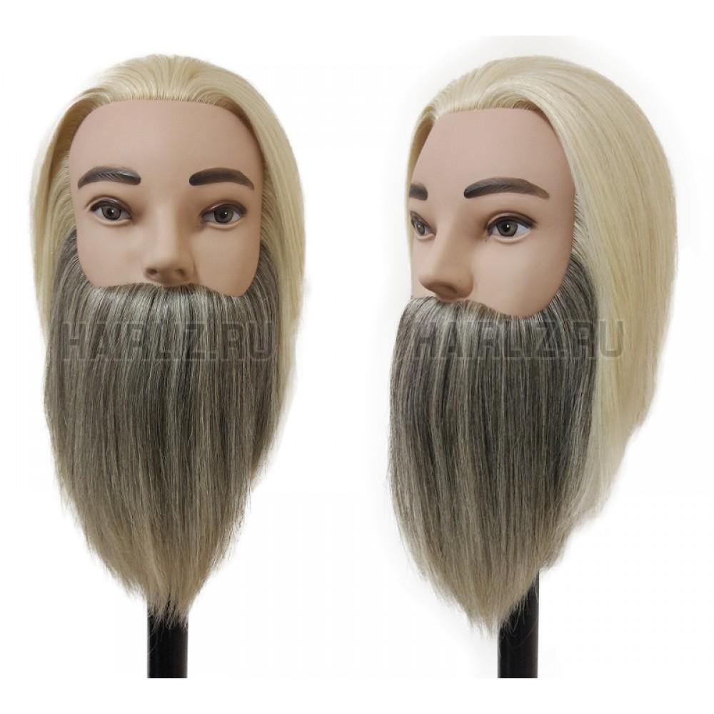 Учебный манекен, 100% натуральный волос NHL-095