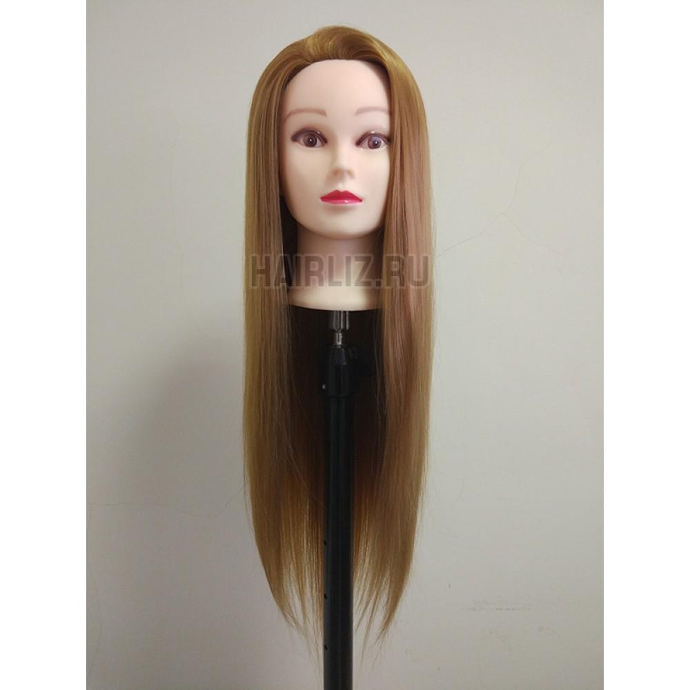 Русый, 100% протеиновые волосы PHL-027